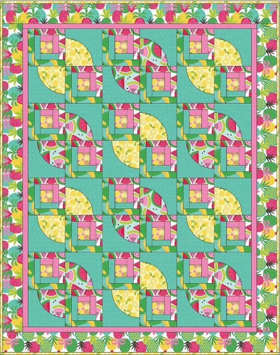blend website- free quilt pattern