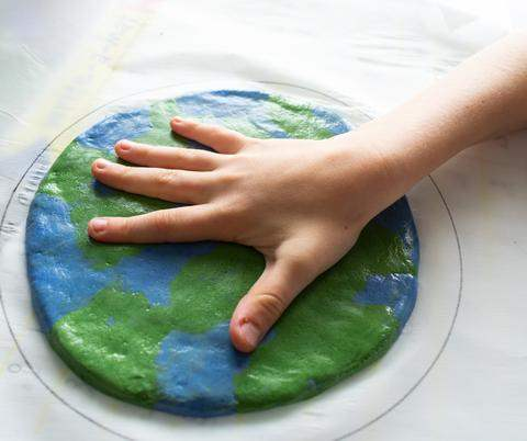 earth-day salt dough