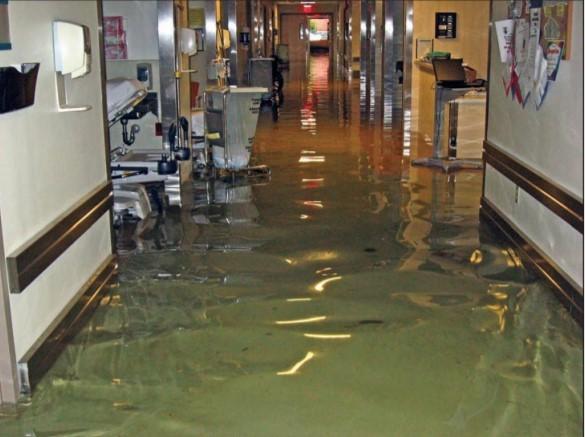 Hospital flood