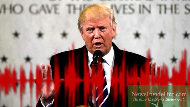 President Trump at CIA HQ