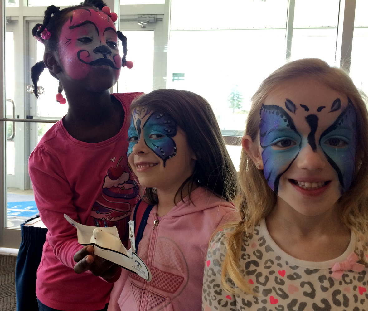 Young at Art Face Painting pic