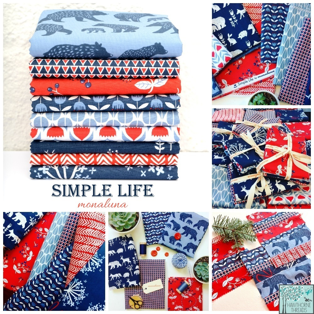 Simple Life Fabric Poster