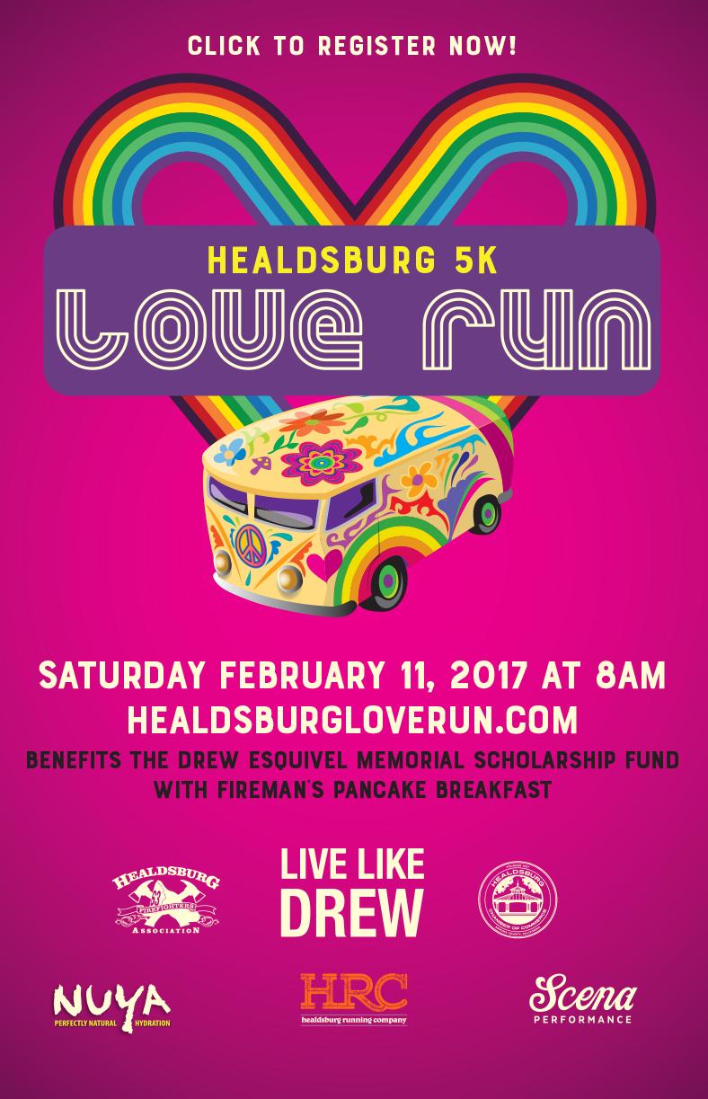 love run poster