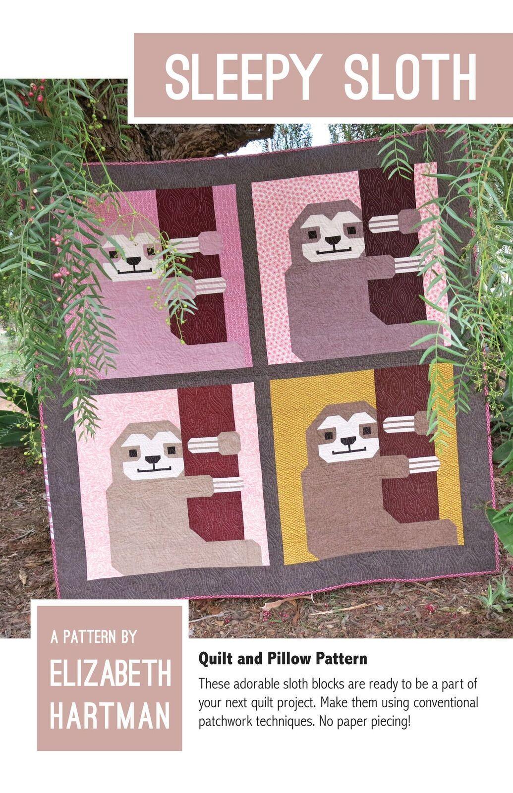 elizabeth hartman sleepy sloth sewing pattern