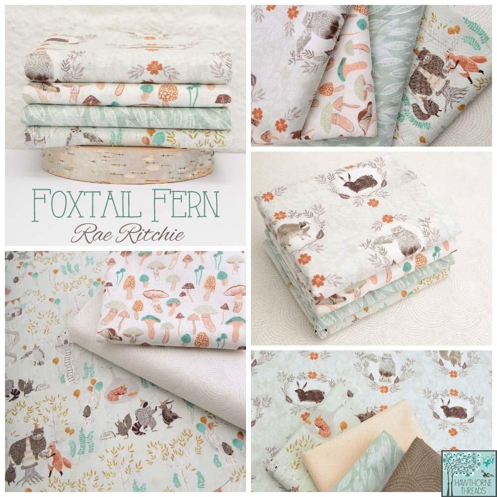 Foxtail Fern Fabric Poster