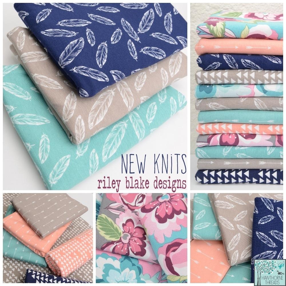 New Riley Blake Knits Fabric
