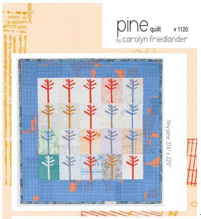 carolyn friedlander pine quilt sewing pattern