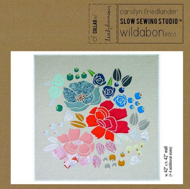 carolyn friedlander wildabon quilt sewing pattern