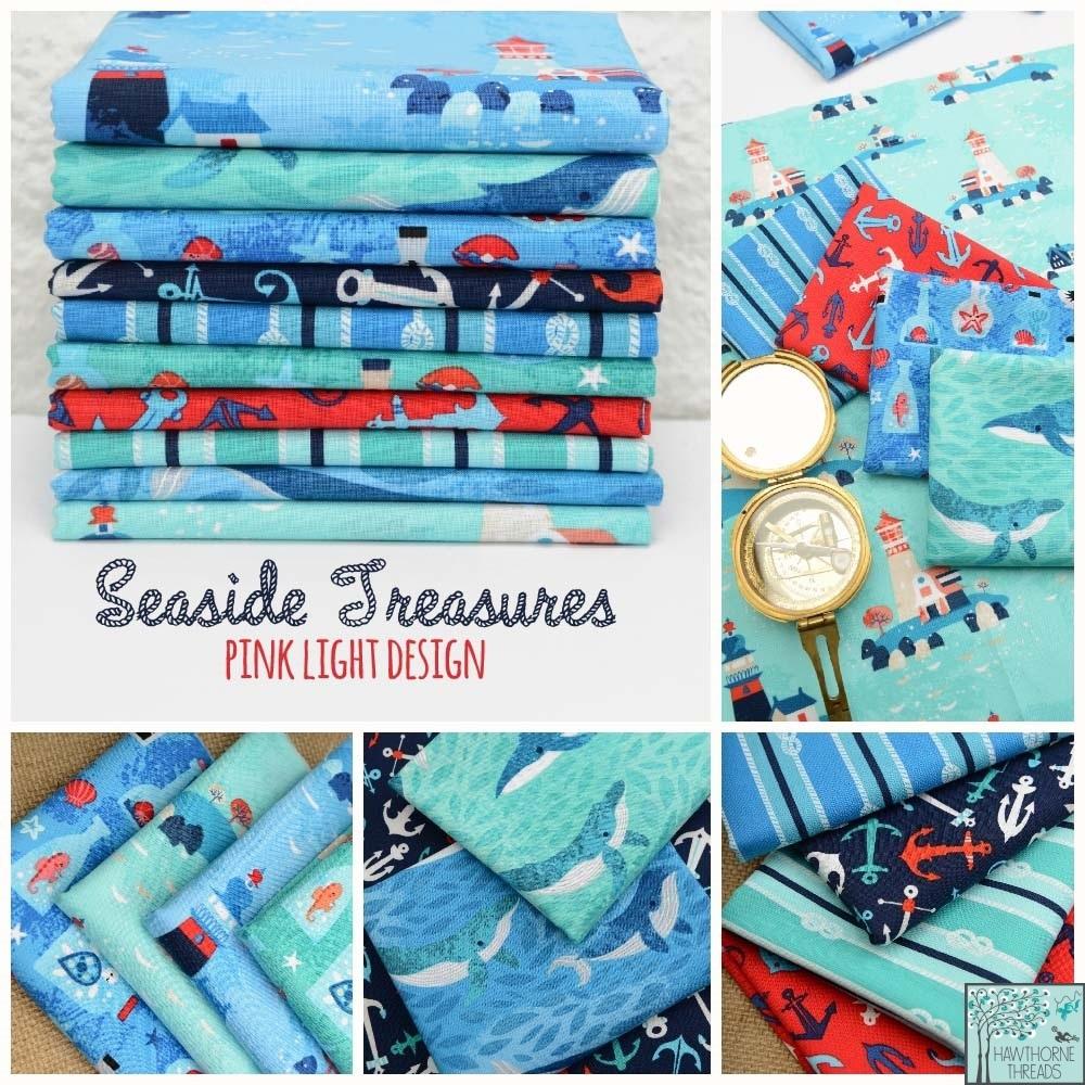 Seaside Treasures Fabric Poster