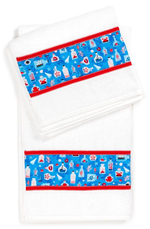 RK website- free project -Embellished towels