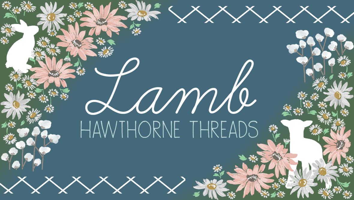 Lamb Fabric Hawthorne Threads
