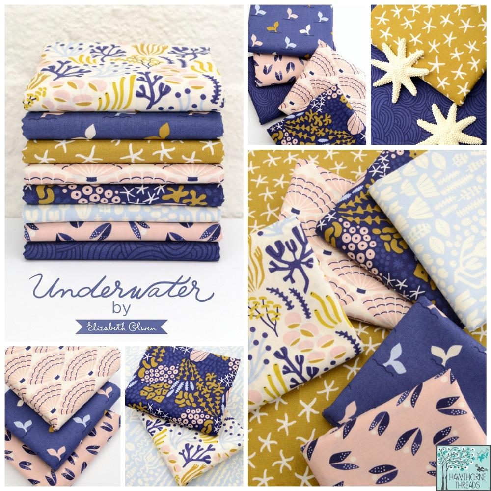 Elizabeth Olwen Underwater fabric