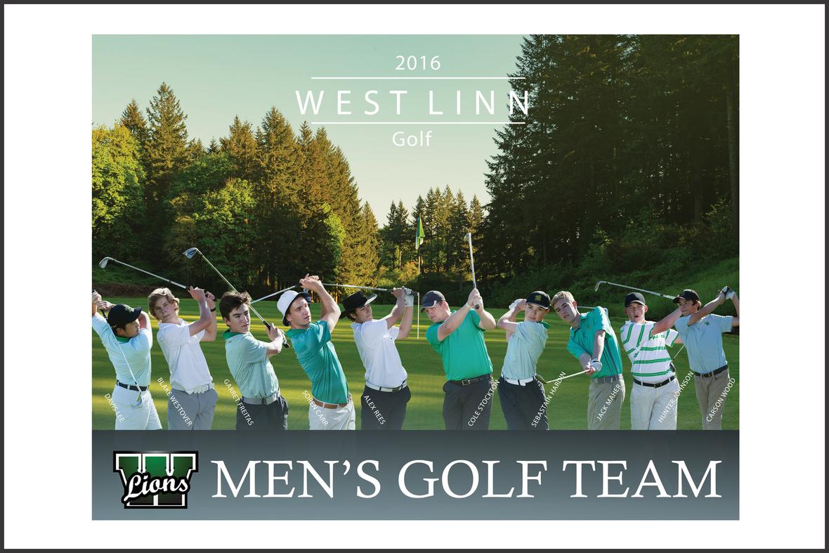 WLHS  Golf Team 8x10