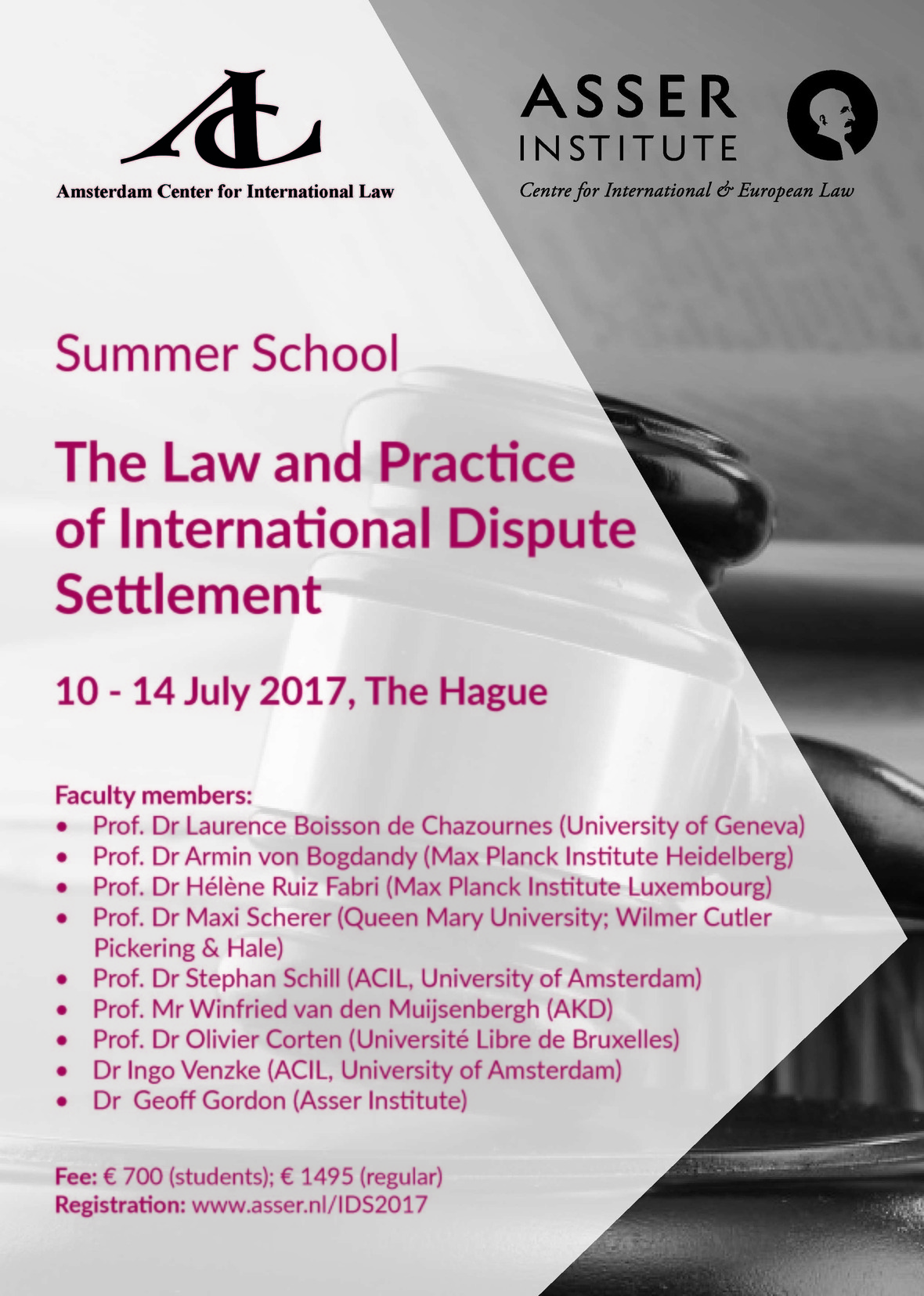 Flyer ACIL Summer Programme 2017