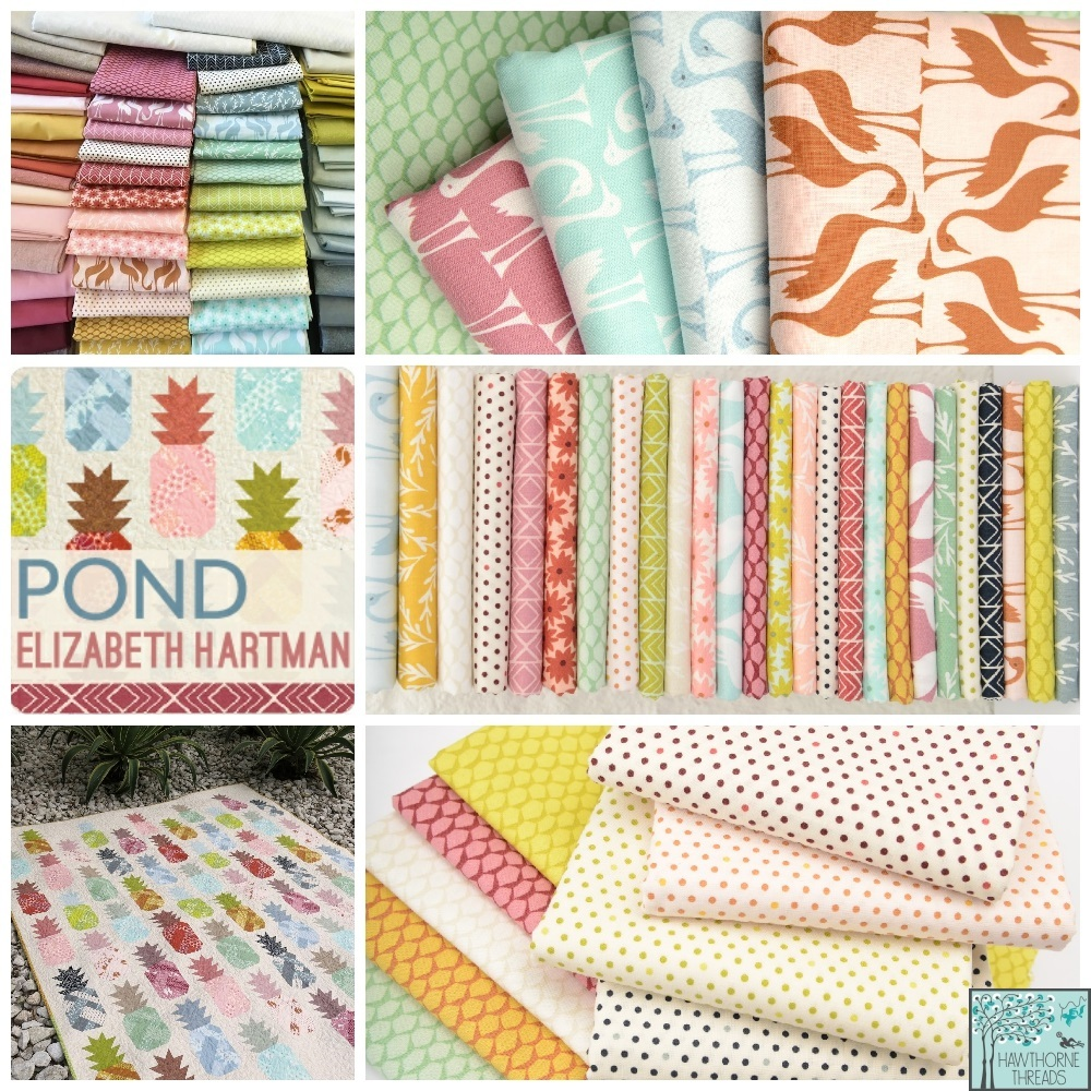 Pond Fabric Poster
