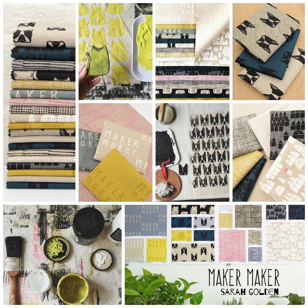 Maker Maker Fabric Poster