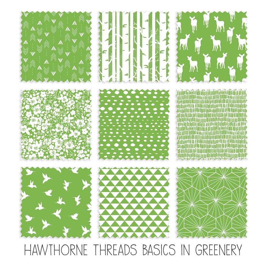 Greenery Fabric