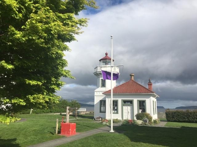 purple LH flag