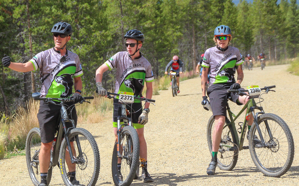 Woodland Park Coach Sussing out Leadville Course