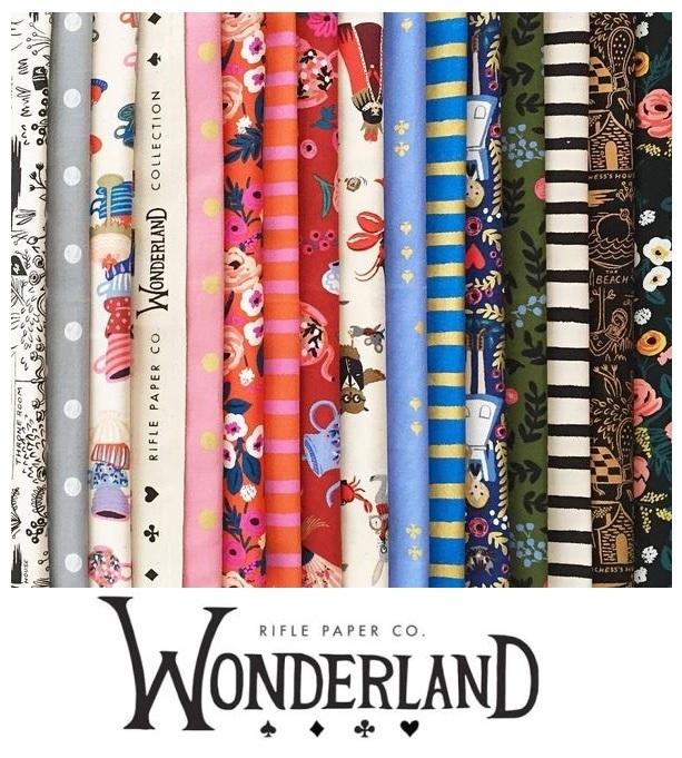 Wonderland Fabric Rifle Paper