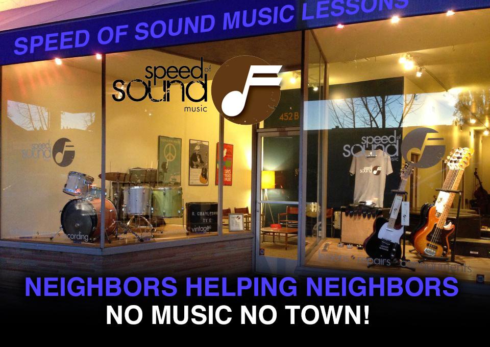 speed of sound neighbors