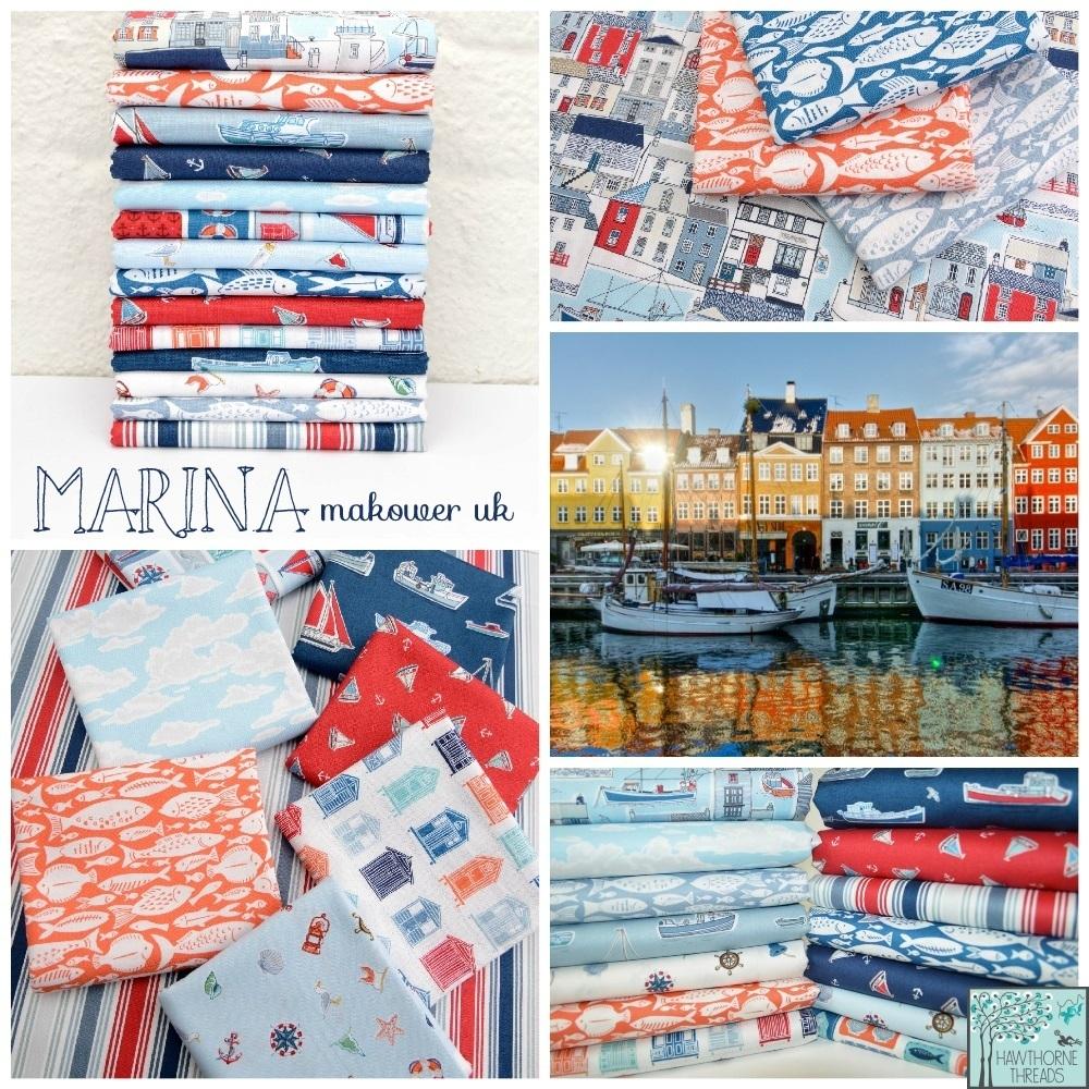 Marina Fabric Poster