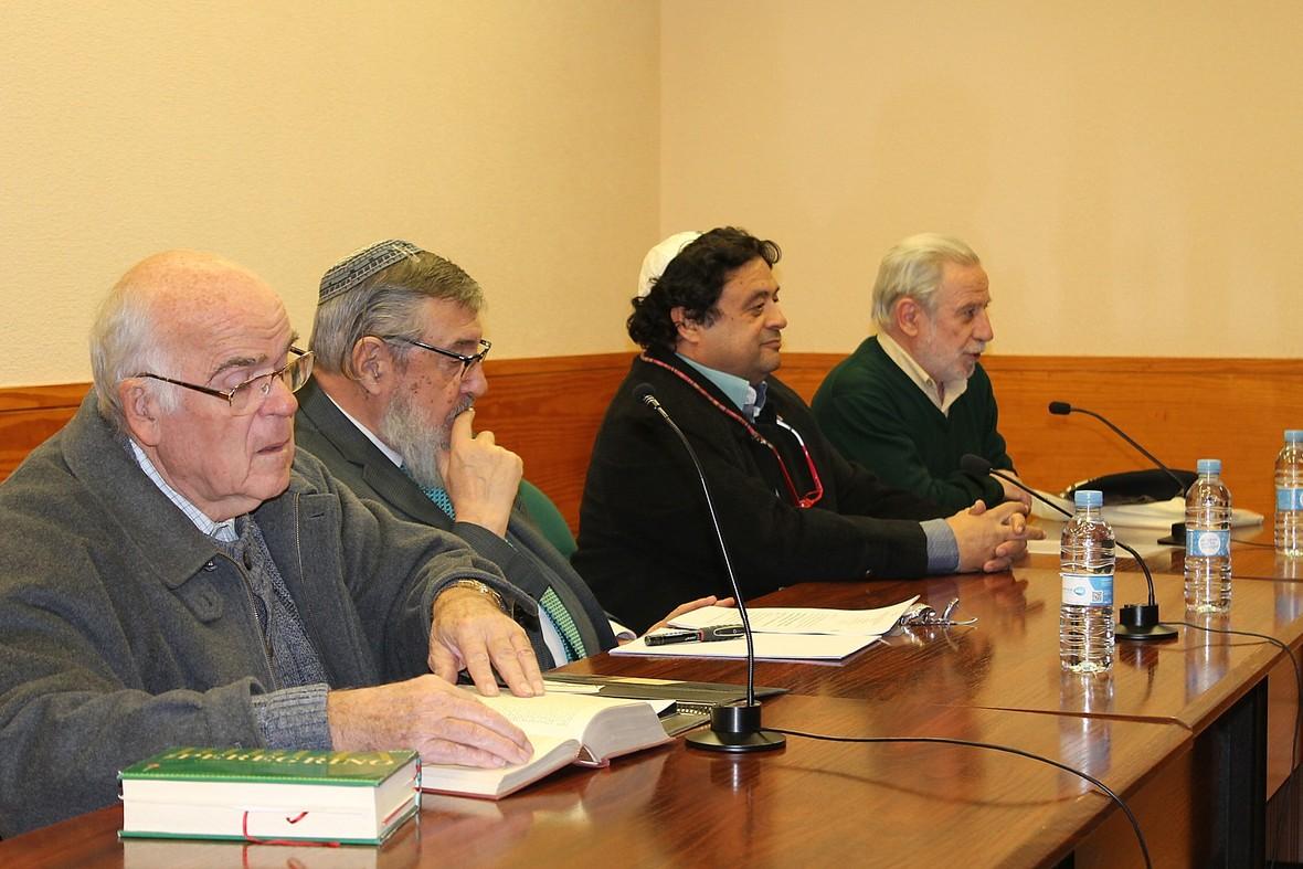 Vicente Collado  Yerahmiel Barylka  Isaac Sananes y Francisco Fontana