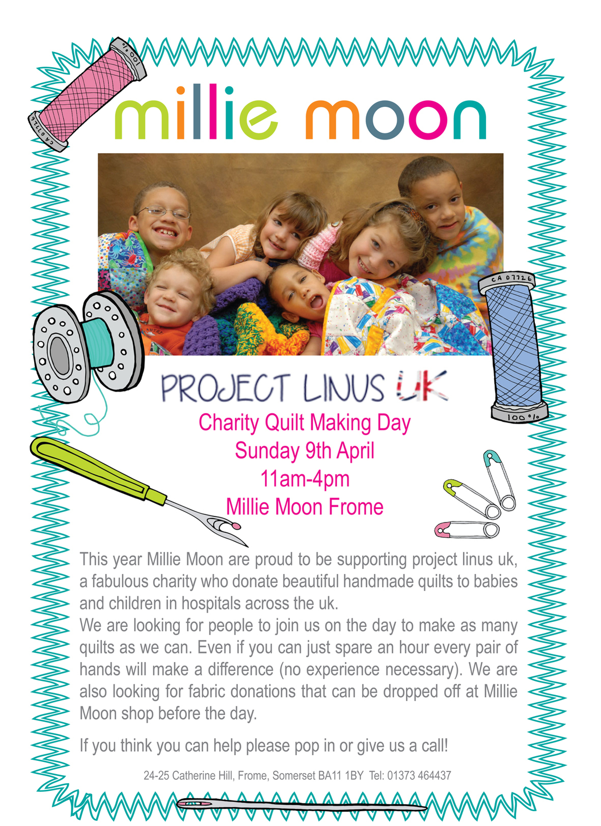 project linus poster 2017