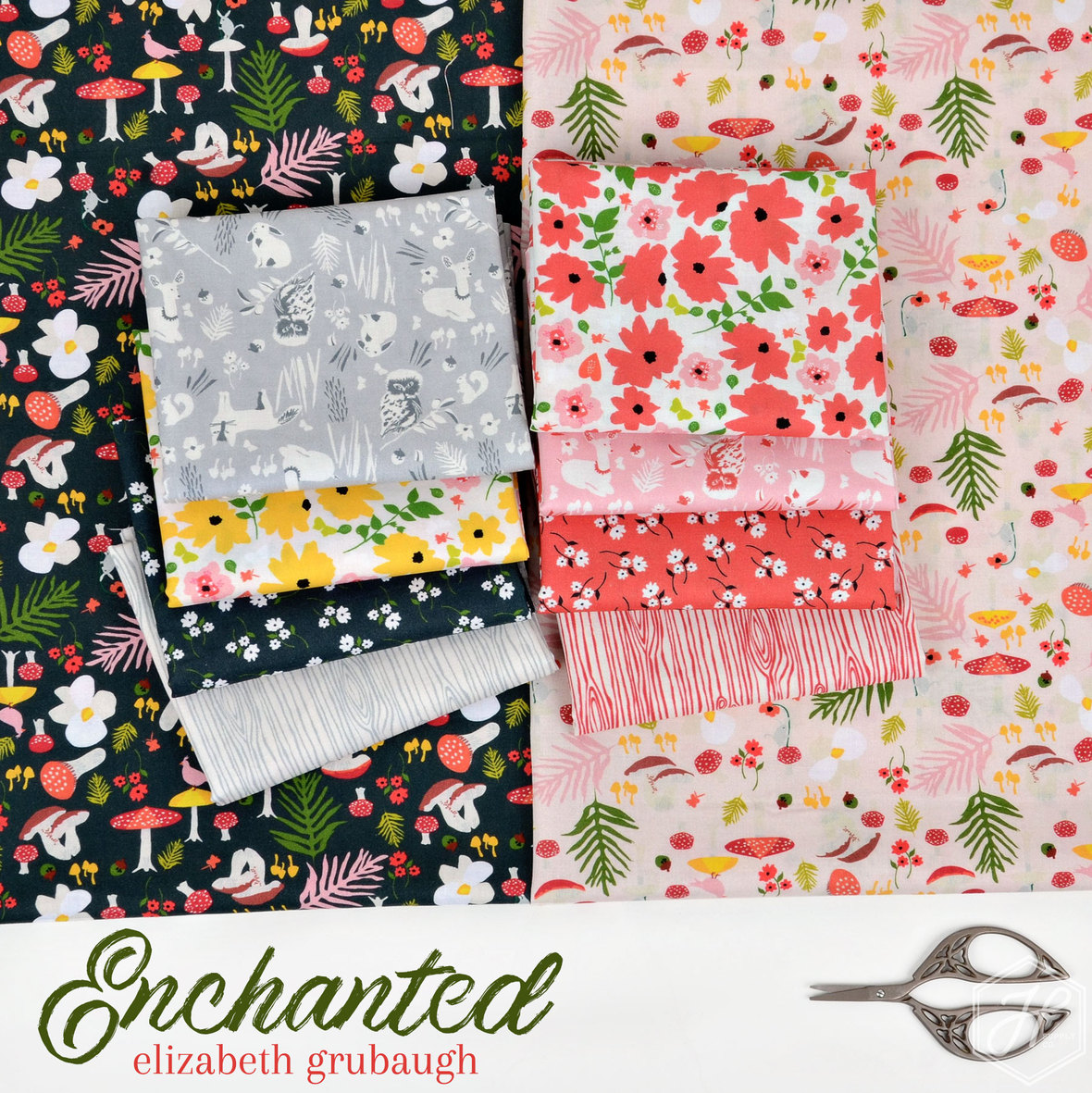Enchanted-fabric-Elizabeth-Grubaugh-for-Blend-at-Hawthorne-Supply-Co
