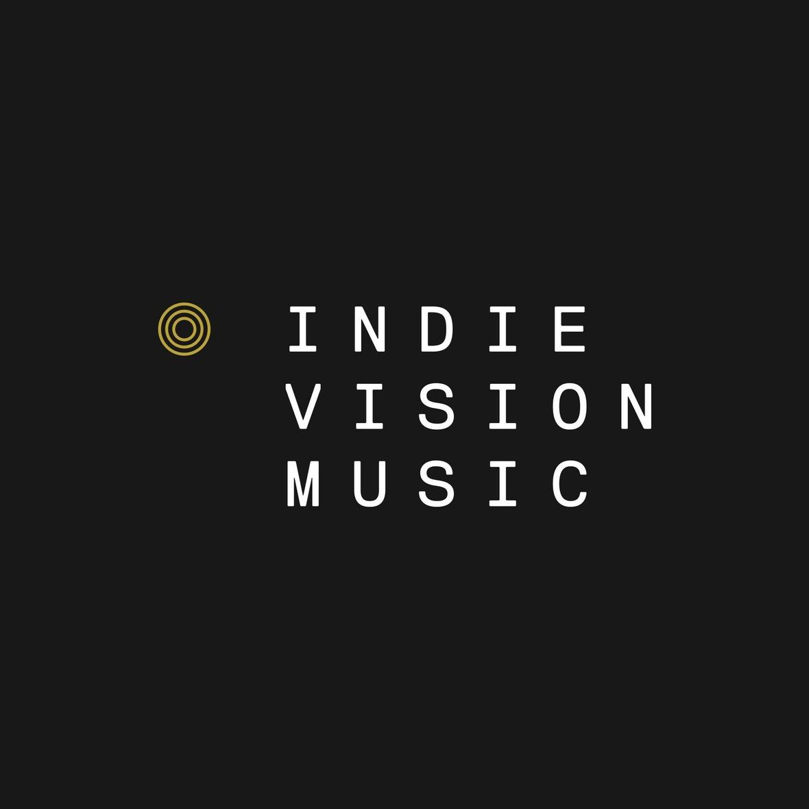 indie vision music logo