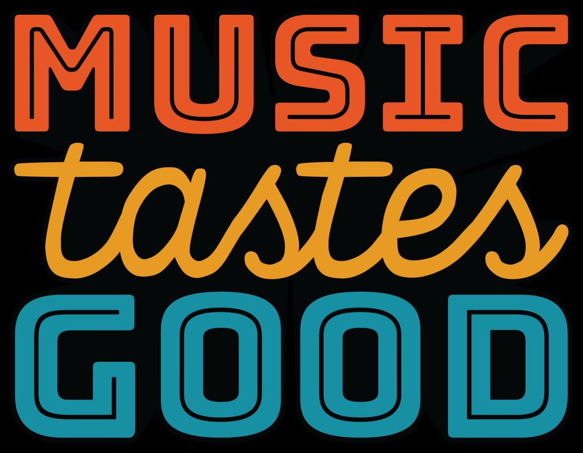 music tastes good 2017 logo