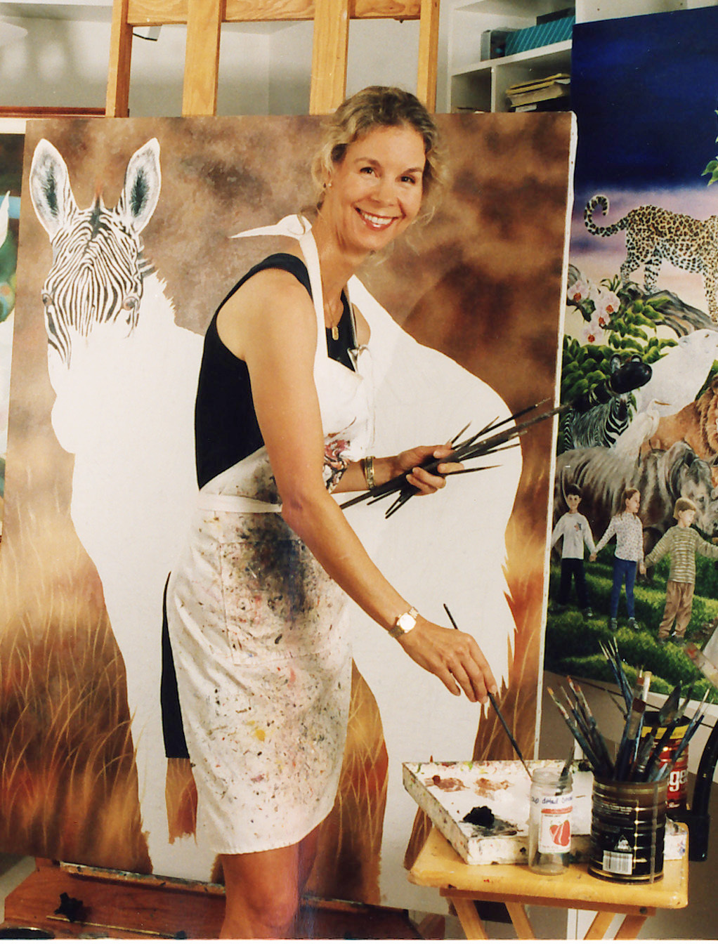 Mercedes at easel-cropped