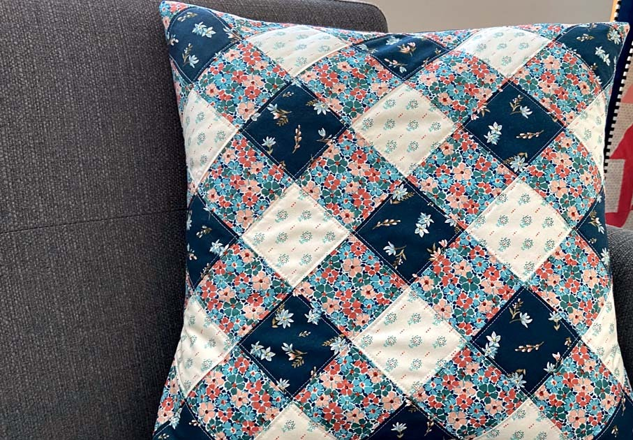 Pillow by heritage threads