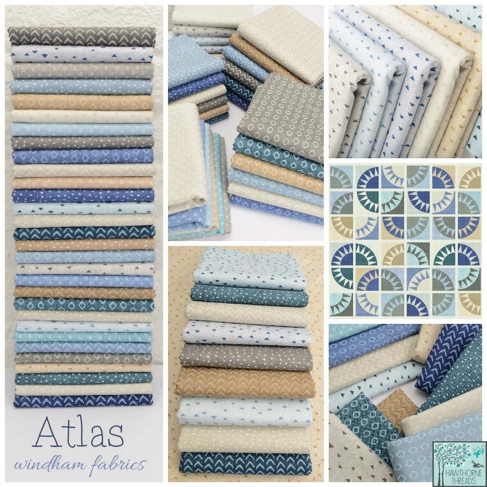 Atlas Fabric Poster