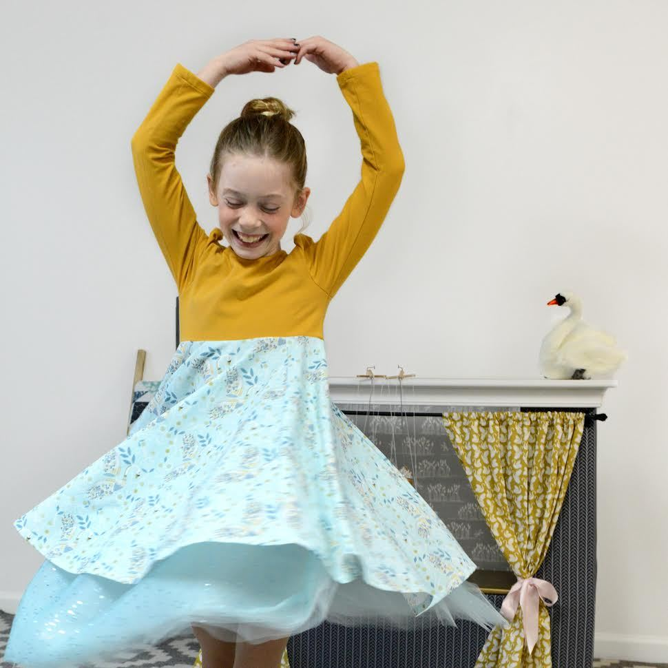 Odette Fabric Dress