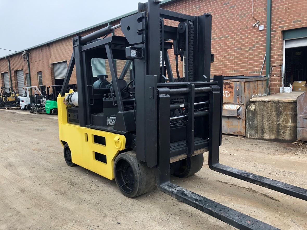 Elward Parker Silent Hoist Heavy Forklifts