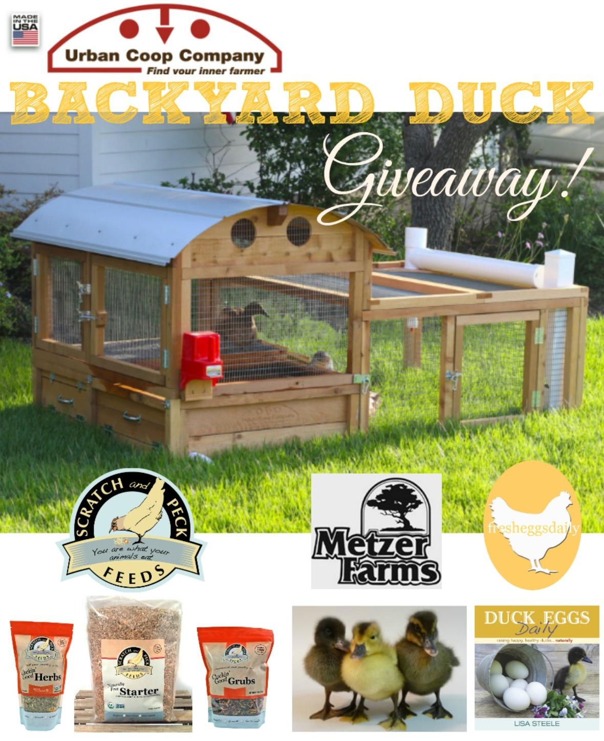 Enter The Backyard Duckapalooza Giveaway!