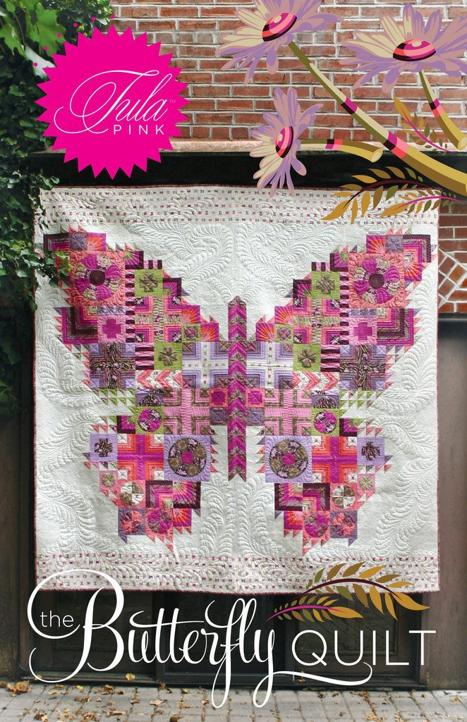 hawthorne threads -the butterfly quilt pattern