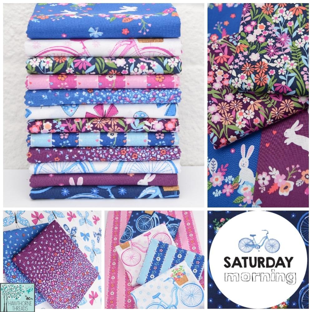 Saturday Morning Fabric Poster