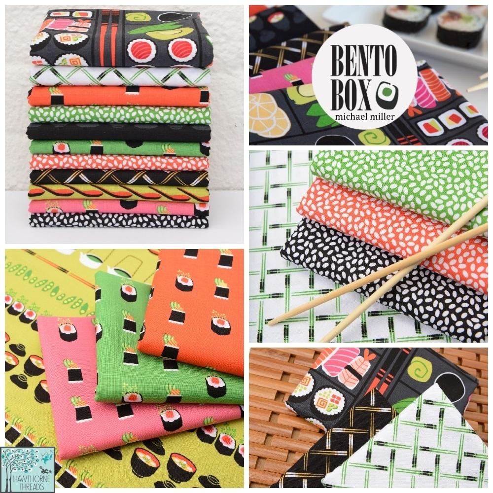 Bento Box Fabric Poster