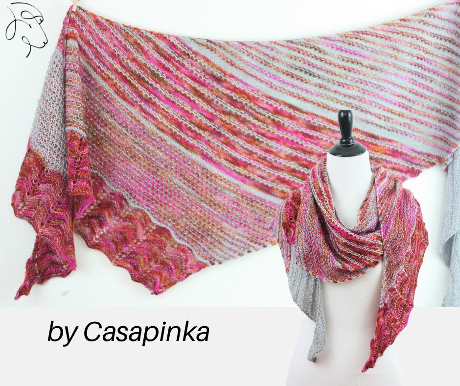 Sorbet shawl