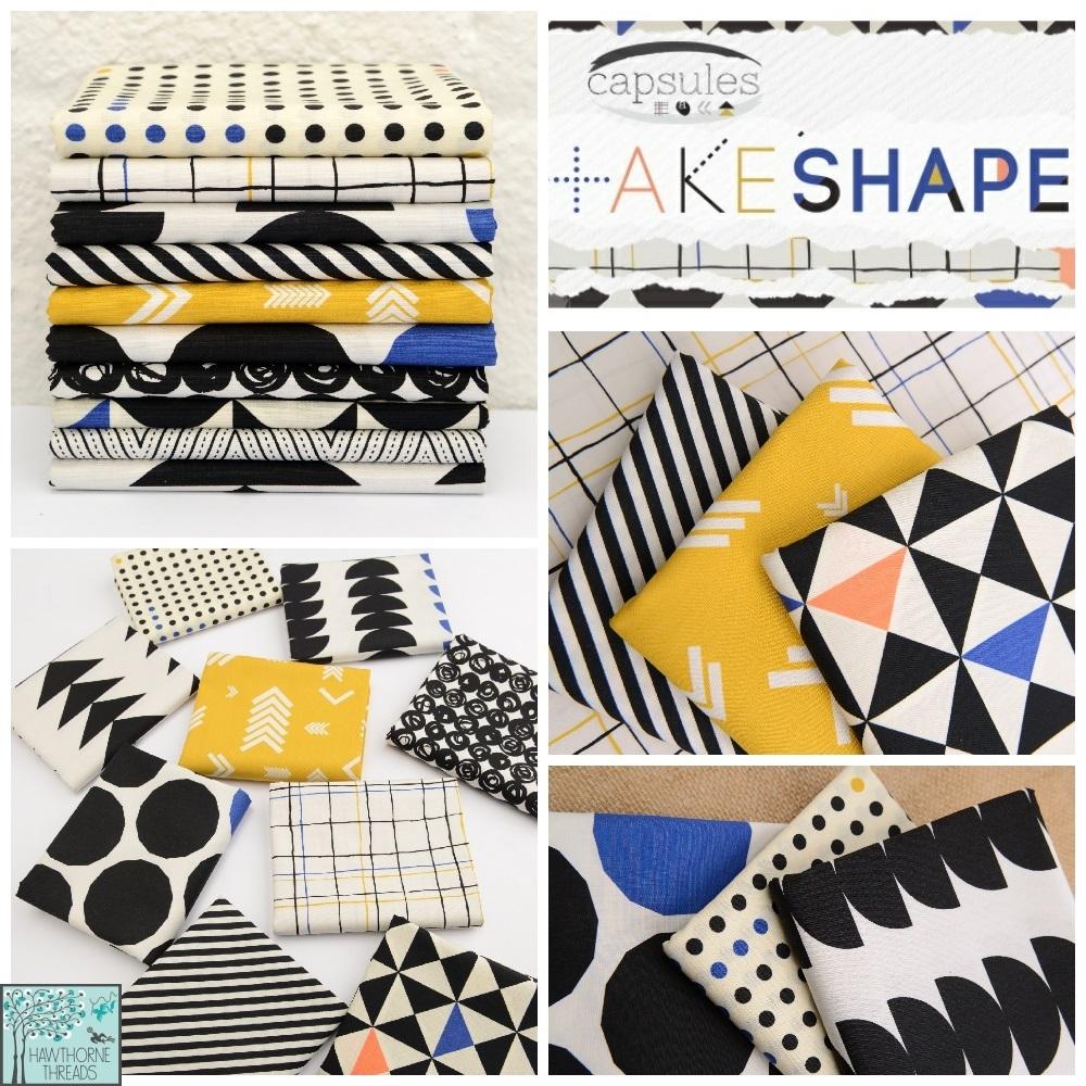 Capsules Take Shape Fabric Poster