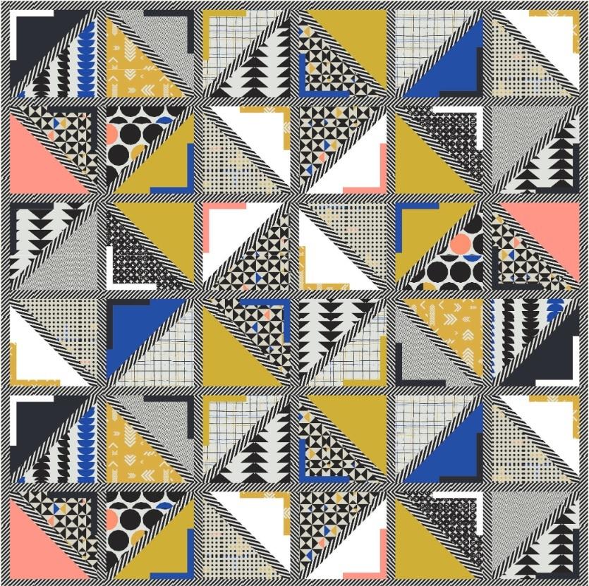 Take Shape Free Quilt Pattern