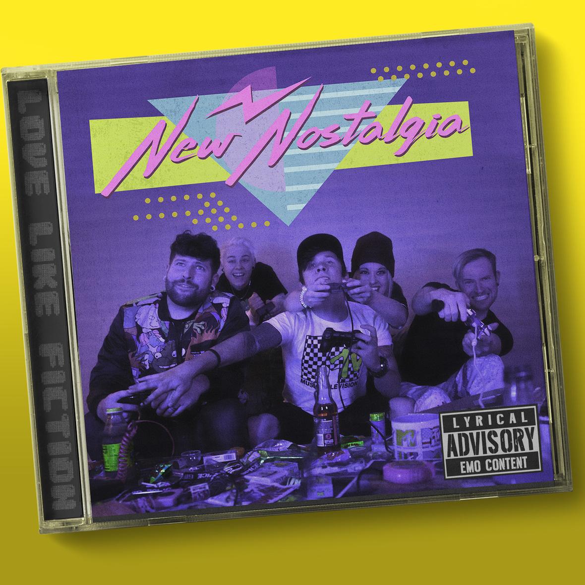 NewNostalgia Album Cover
