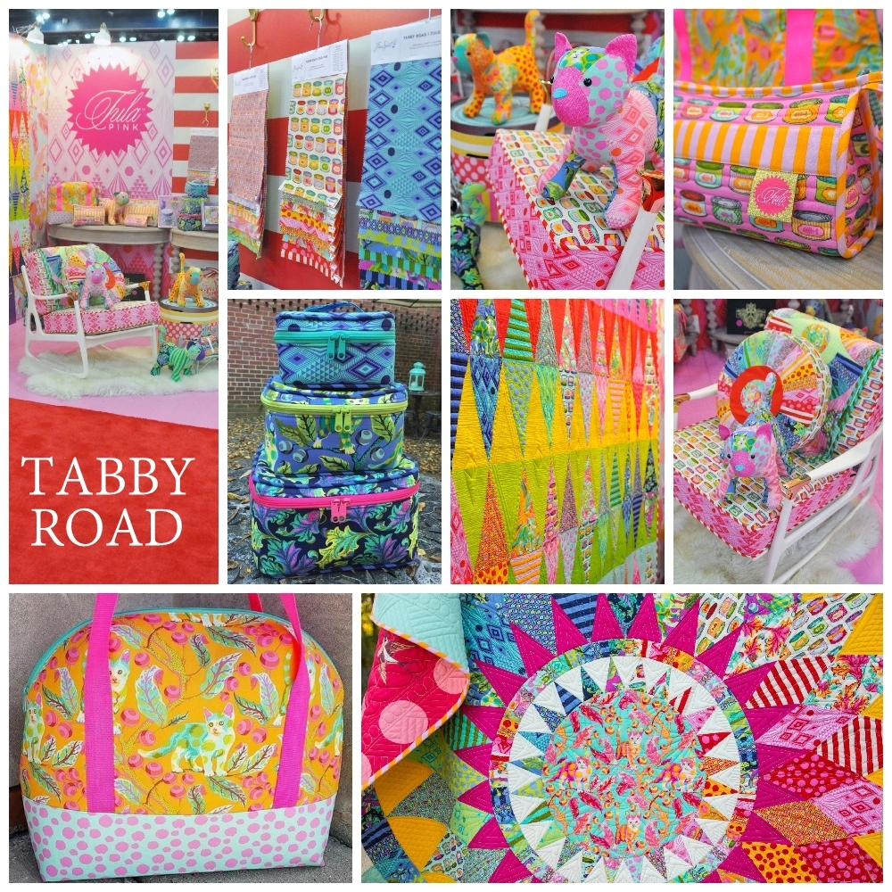 Tabby Road Fabric Poster