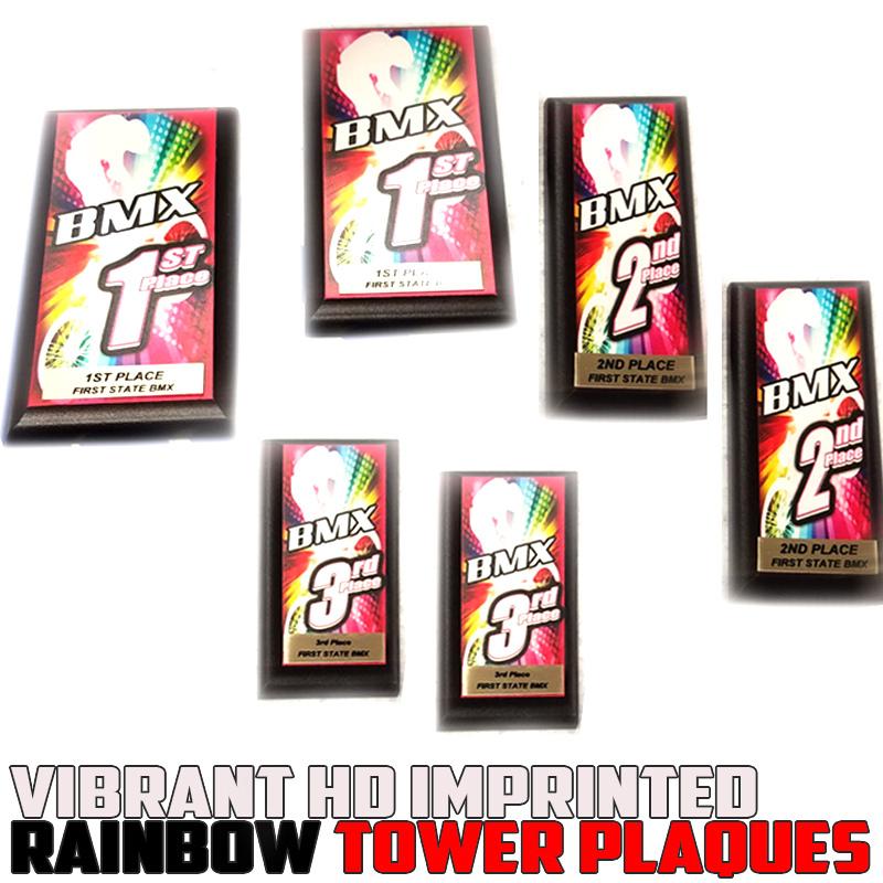 rainbow plaques