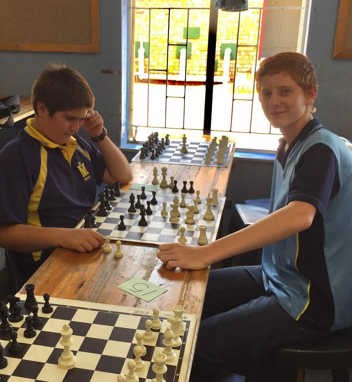 Chess 05 Kevin van Onselen and Wiehan Cloete