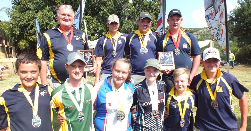 Archery Medal winners