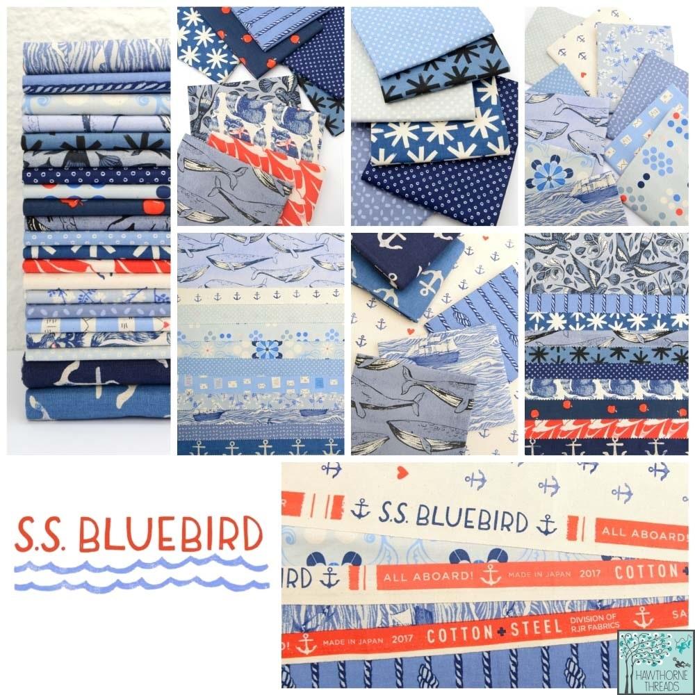 SS Bluebird Fabric Poster