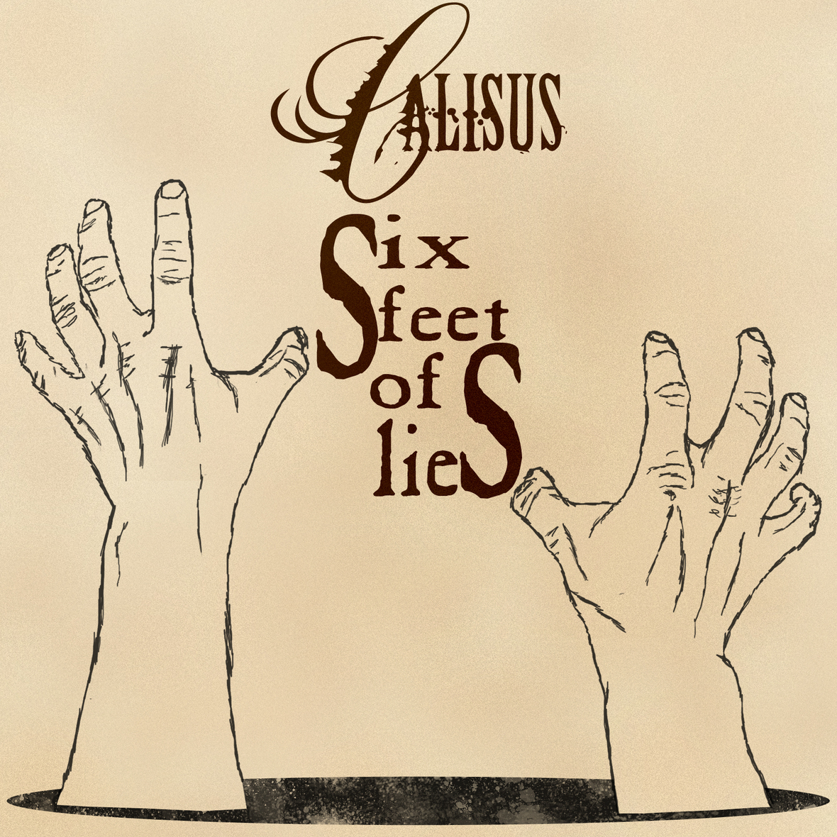Six Feet of Lies Single Artwork